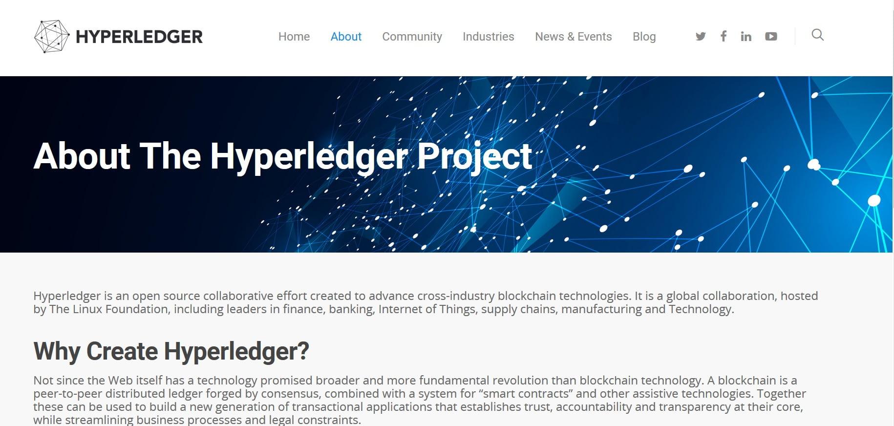 Hyperledger o debiucie blockchain w branży finansowej