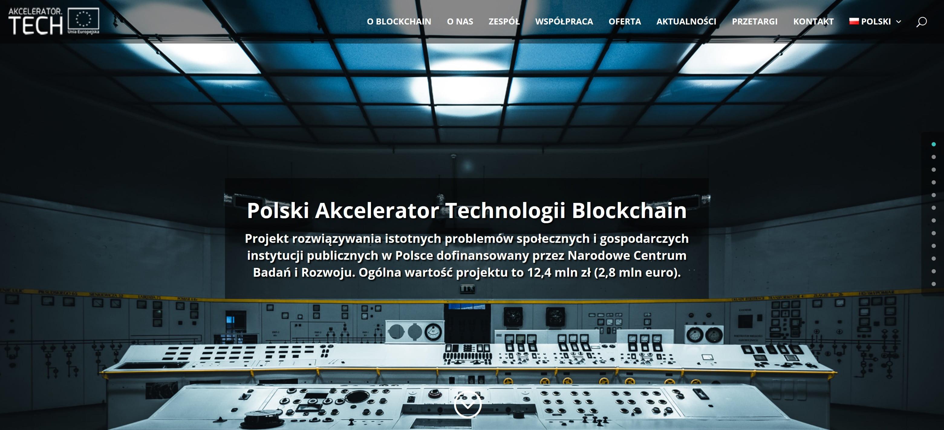 Polski Akcelerator Technologii Blockchain
