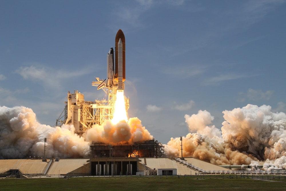 Statek kosmiczny oparty o technologię Blockchain