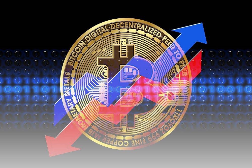 Bitcoin spadki