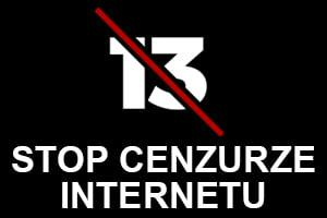 Stop cenzurze internetu
