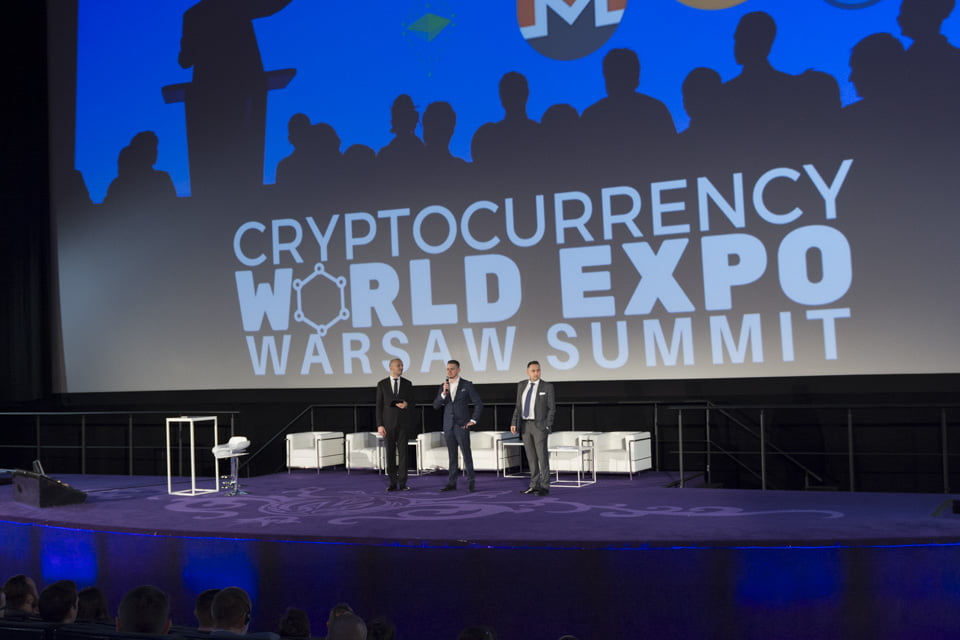 Cryptocurrency world expo Warsaw Summit