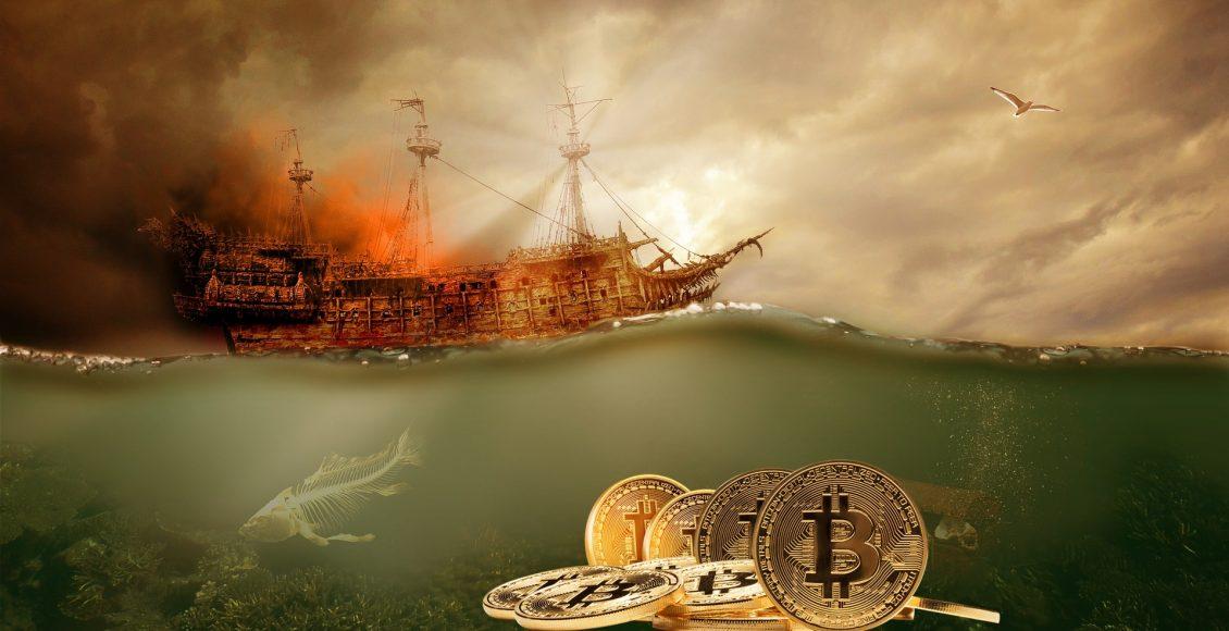 Miliony zgubionych Bitcoinów w cybernetycznym morzu