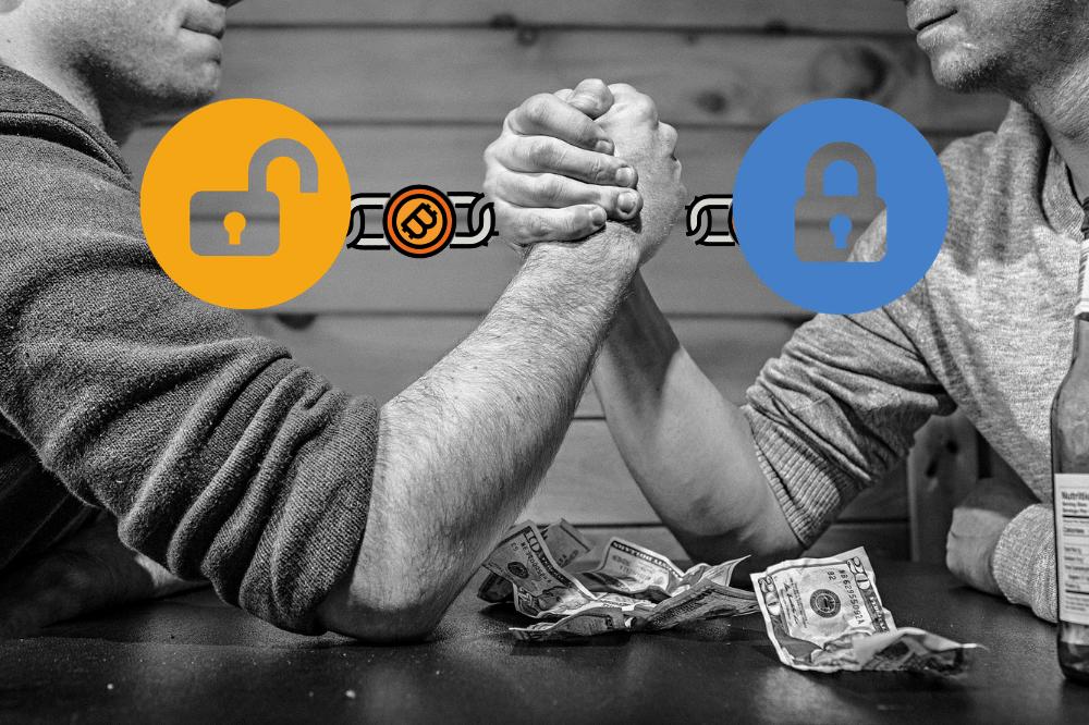 Blockchain Prywatny VS Publiczny