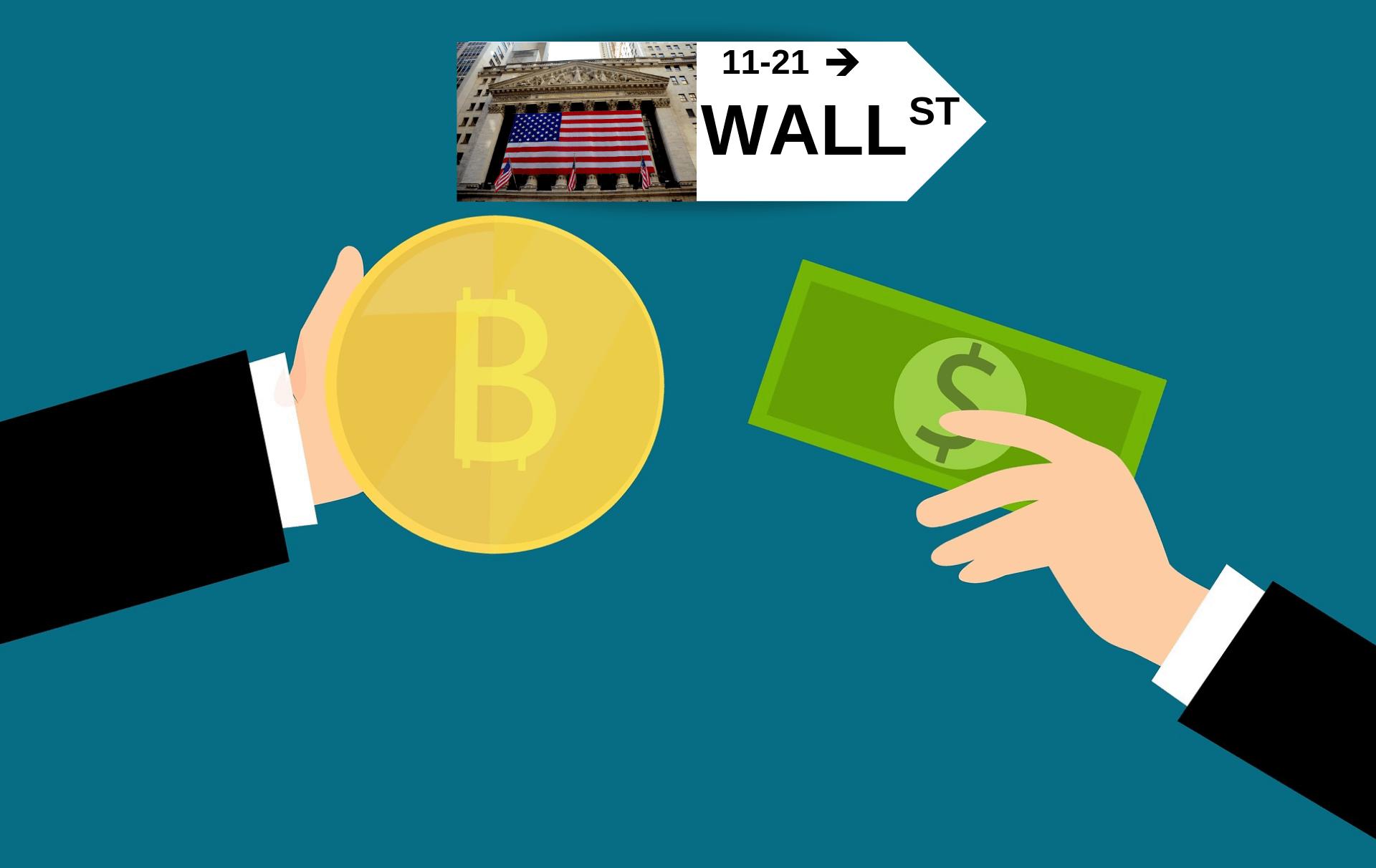 bakkt bitcoin wall street kontrakty