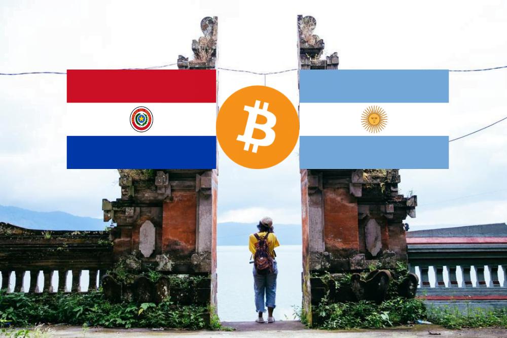 przy użyciu Bitcoina Bitcoin Paragwaj Argentyna Ameryka Południowa Bitex mikropłatności