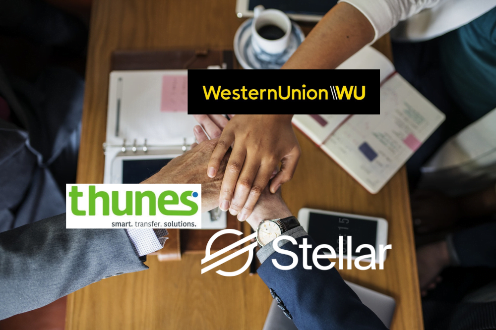 Western Union współpracuje z partnerem Stellara – Thunes