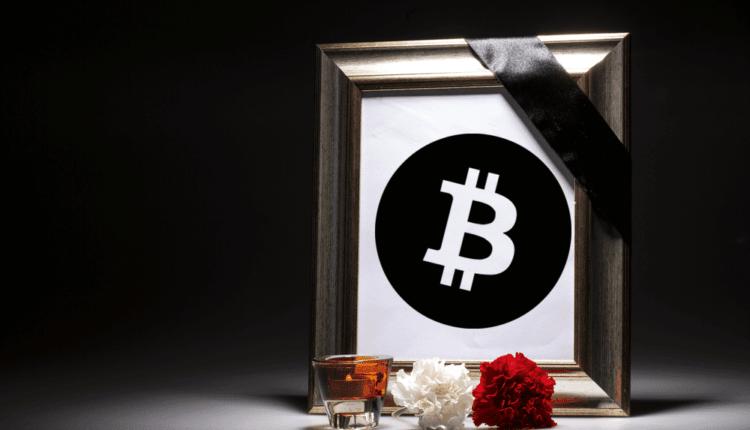 Bitcoin Obituaries nekrolog śmierć BTC