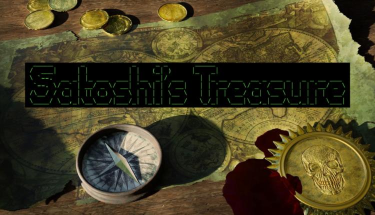 skarb satoshiego nakamoto wiadomość wskazówki blockstream kosmos bitcoin BTC satoshi's treasure