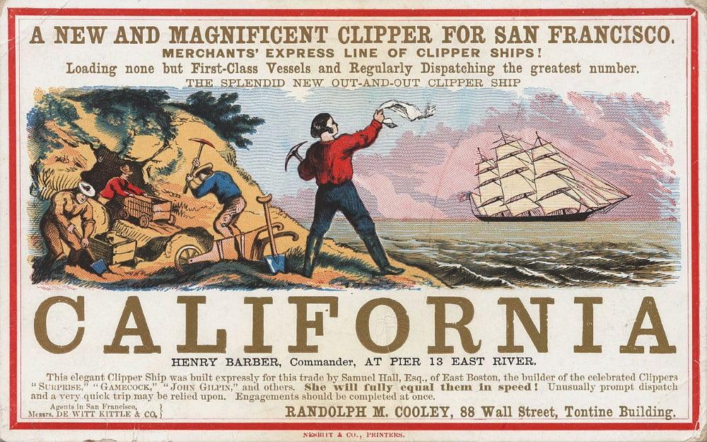 kalifornijska gorączka złota