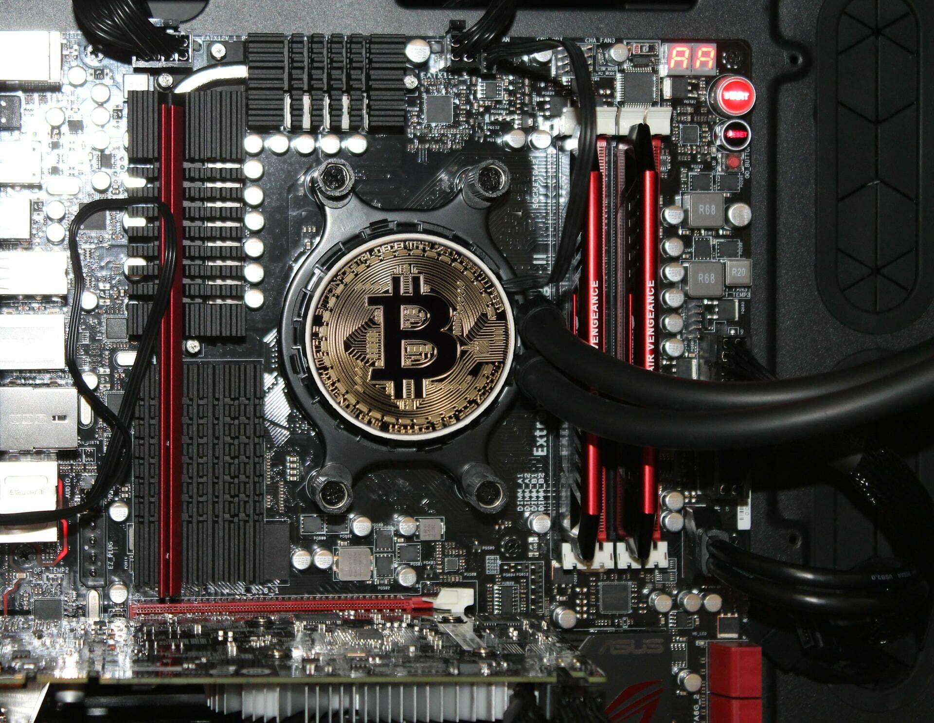 moc bitcoina przepływ pieniądza btc kryptowaluty blockchain pośrednicy