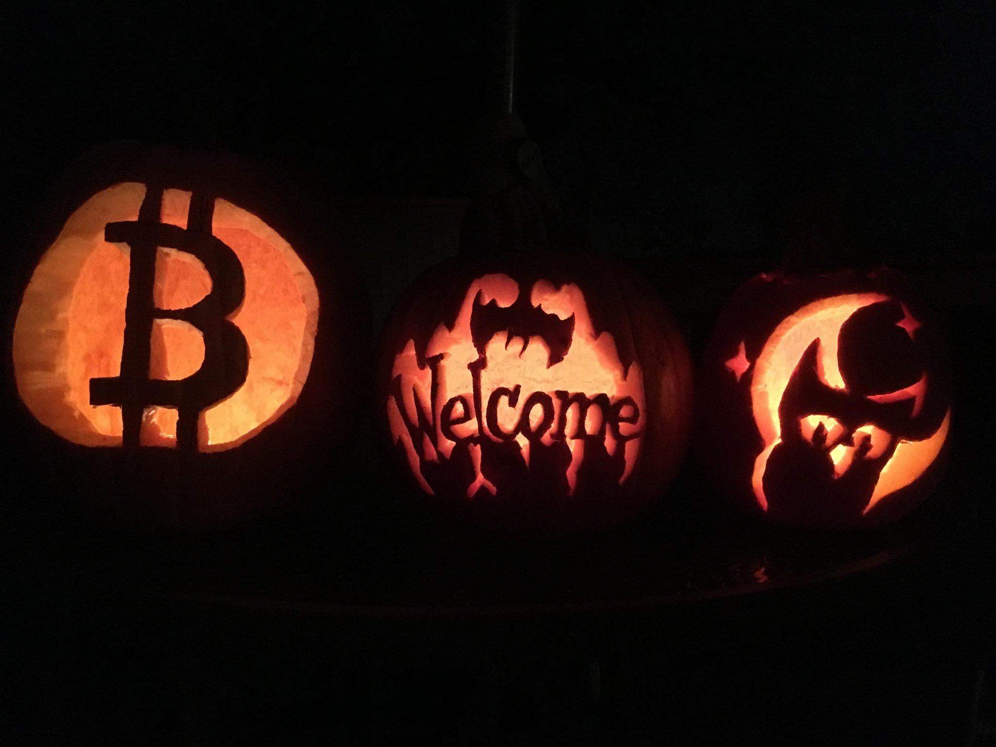 """""""Wszystkie kryptowaluty znikną""""   Bitcoin Halloween"""