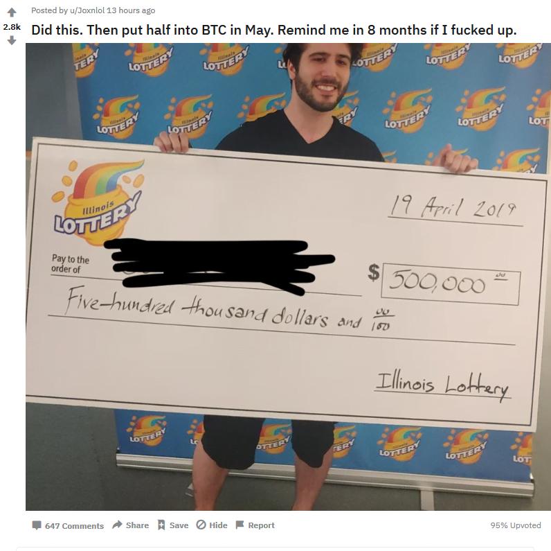 kupił BTC