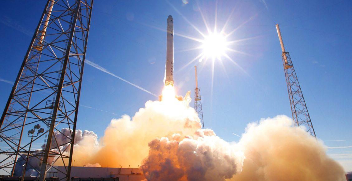 spacex elon musk blockchain kosmos spacechain kryptowaluty