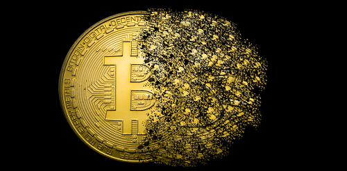zagubione bitcoiny