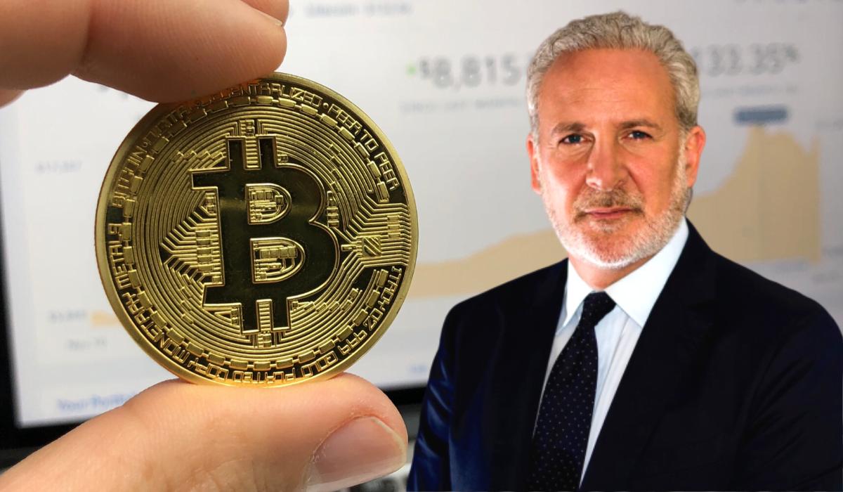Zagadka rozwiązana!   Dlaczego Peter Schiff stracił dostęp do portfela BTC?