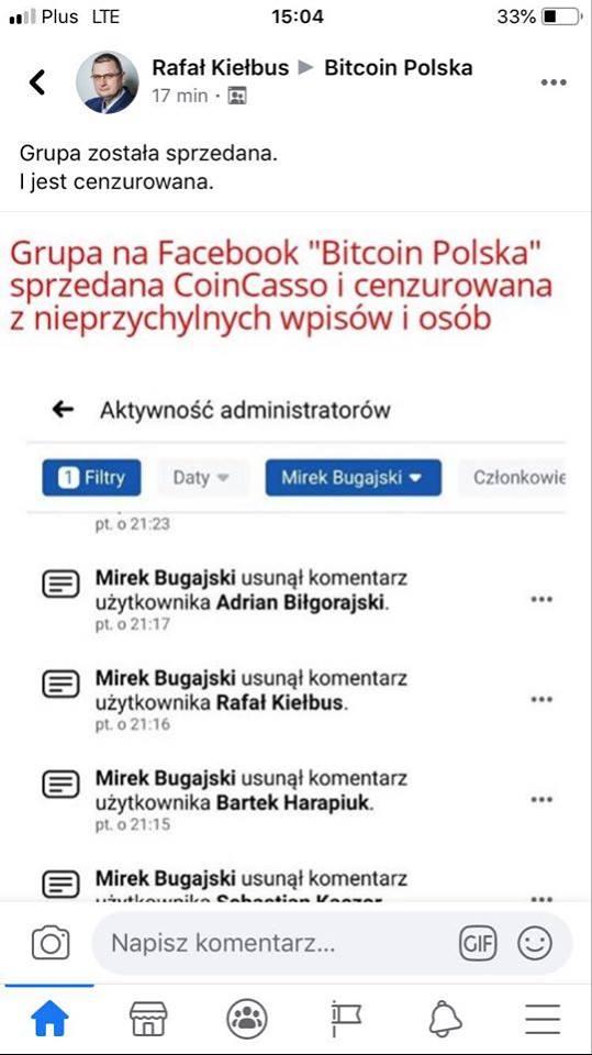 Bitcoin online Polska