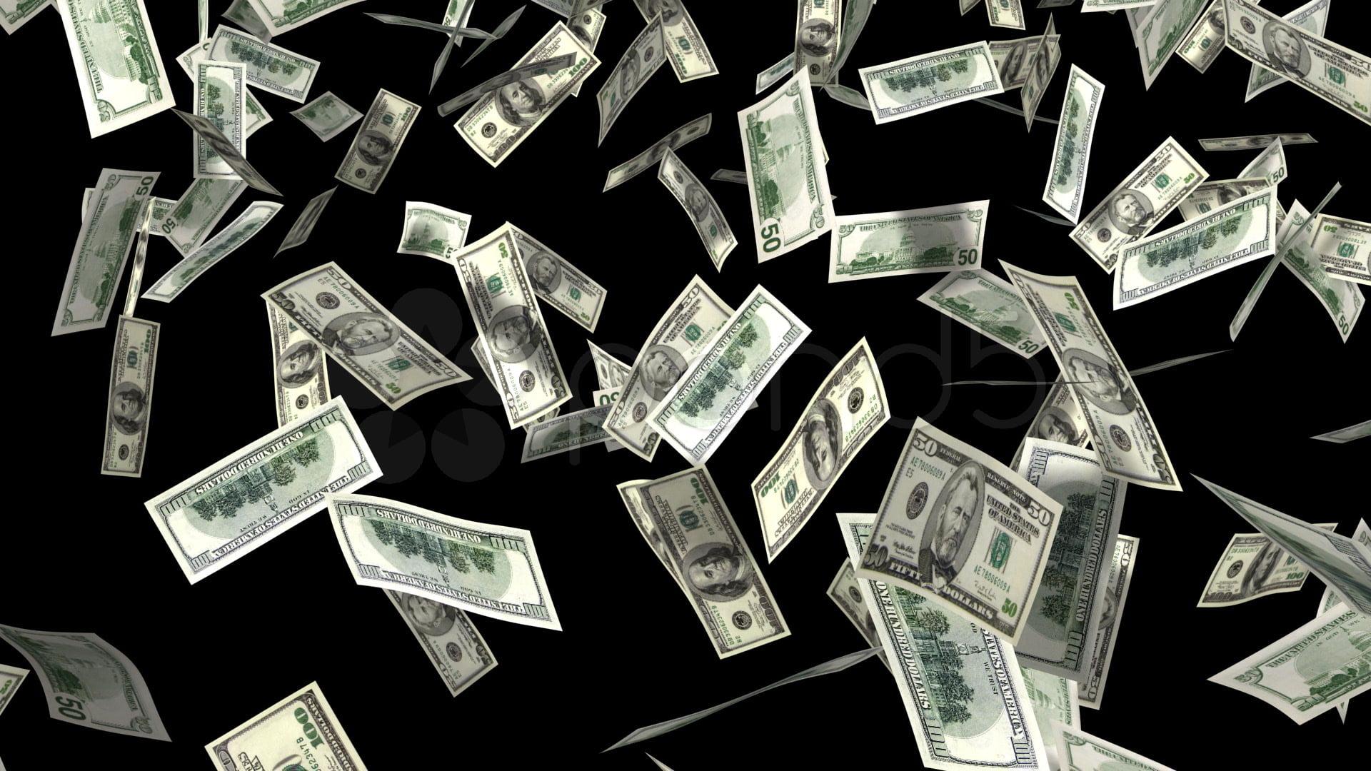 Deszcz pieniedzy