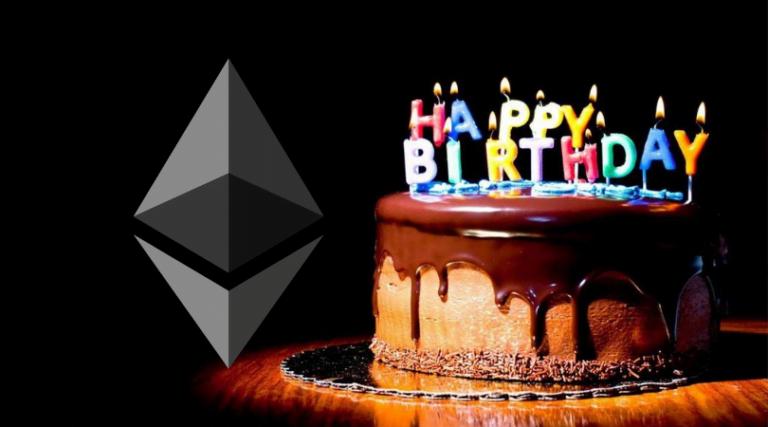 piąte urodziny ethereum