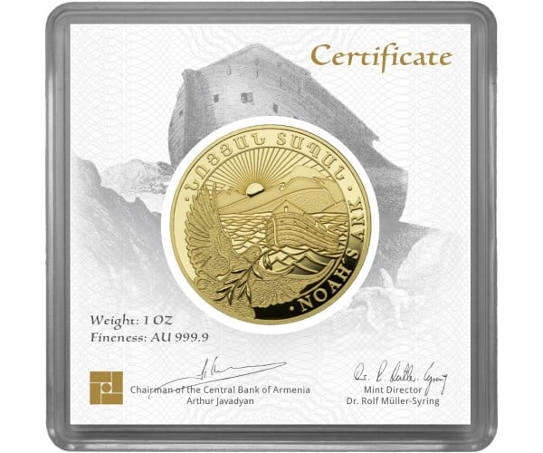 FlyingAtom monety złoto
