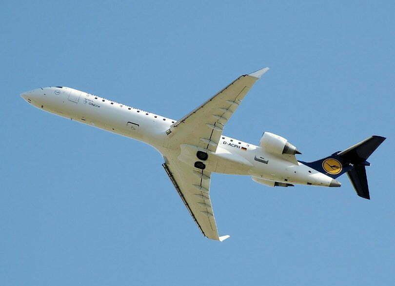 Alstom Bombardier upadek lotniczy