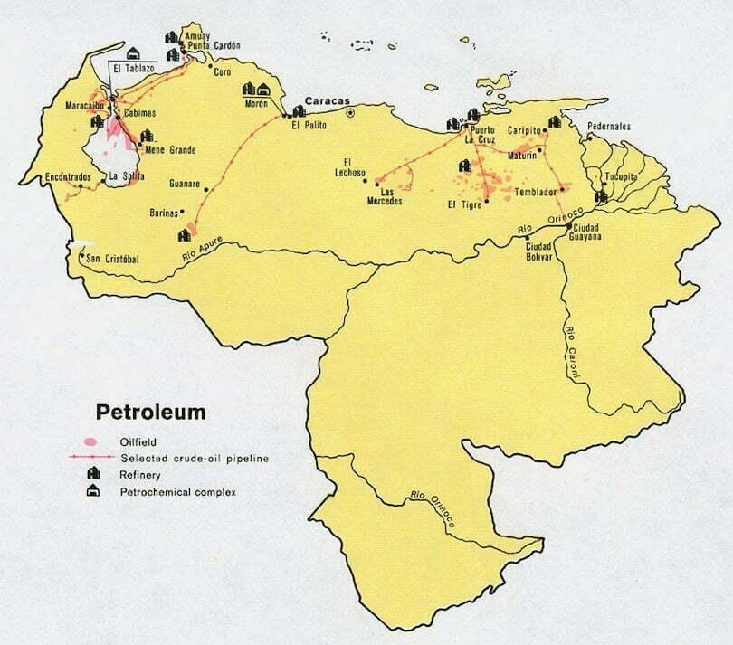 Wenezuela rurociągi