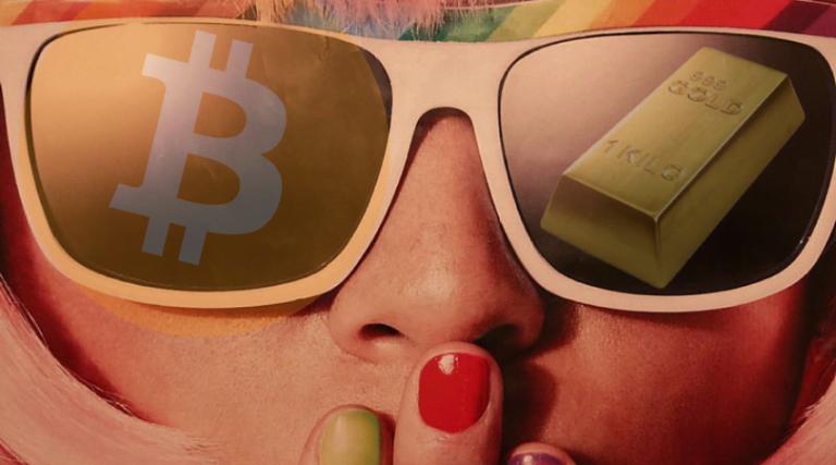 bitcoin jak złoto