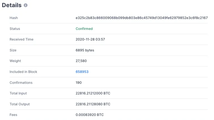 transfer bitcoin
