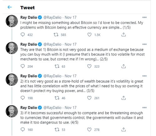 ray dalio G7 twitter