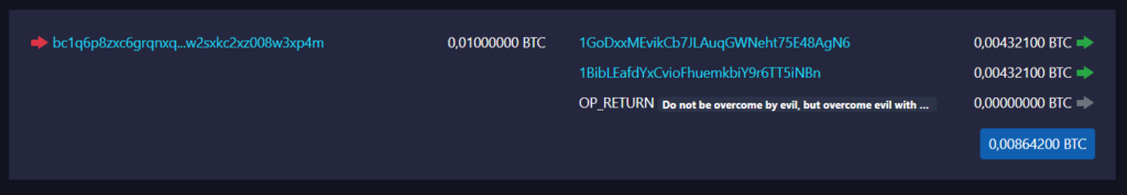 blok bitcoin