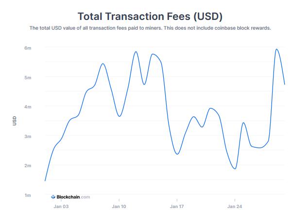 opłaty transakcyjne bitcoin ranking kryptowalut styczeń 2021
