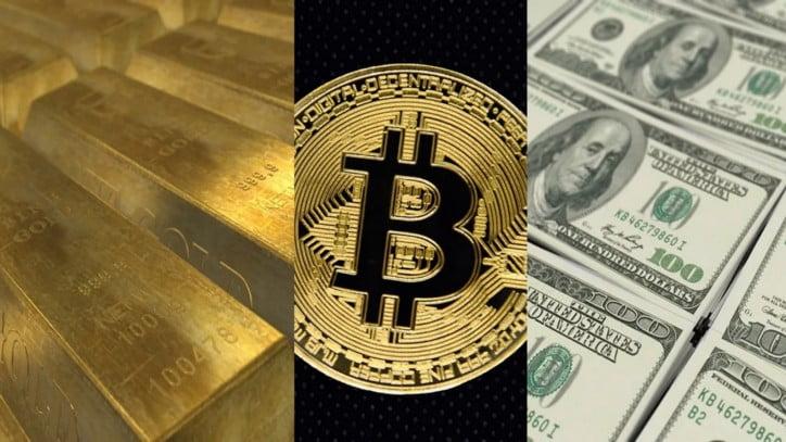 bitcoin złoto