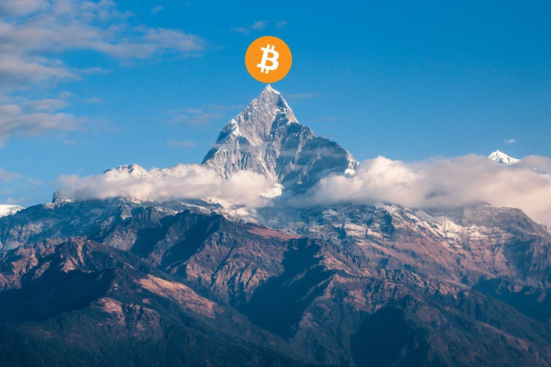 paraboliczny rajd bitcoina